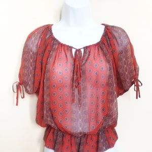 SUMMER BLOUSE GUESS SIZE XS